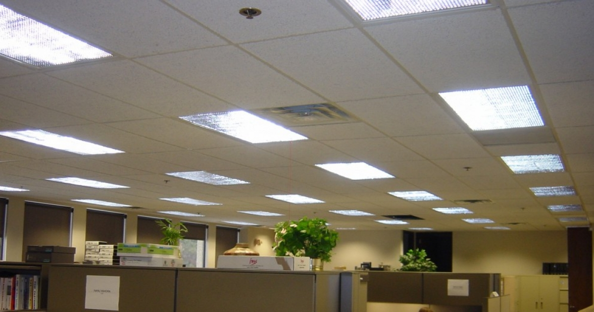 Merveilleux Upgrading The Overhead Lighting In Your Office
